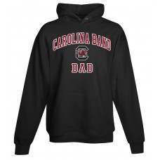 Carolina Band Dad Hoody Black, Garnet, Grey