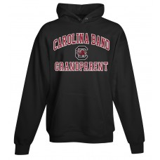 Carolina Band Grandparent Hoody Black,Garnet, Grey