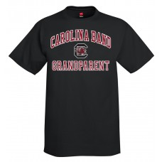 Carolina Band Grandparent S/S T-Shirts Black,Garnet, Grey
