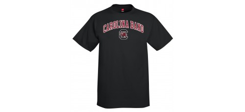 Carolina Band S/S Tee Garnet,Black,Grey