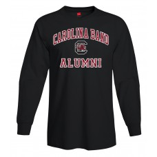 Carolina Band Alumni L/S T-Shirt Black,Garnet,Grey,