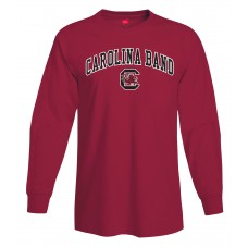 Carolina Band L/S Tee Garnet, Black,grey