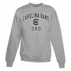 Carolina Band Dad Crew Sweat Top Black, Garnet, Grey