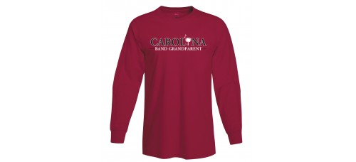 Carolina Band Grandparent L/S T-Shirts Black,Garnet, Grey