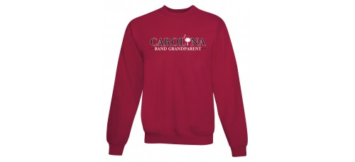 Carolina Band Grandparent Crew Sweat Top Black,Garnet, Grey