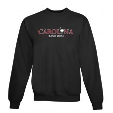 Carolina Band Mom Crew Sweat Top Black, Garnet, Grey