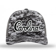 R112 Camo/Grey Truker Hat