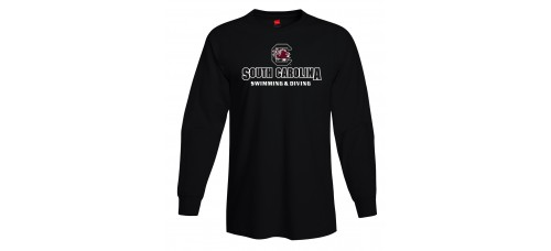 S&D Long Sleeve T-Shirt Available in Garnet Black or Grey